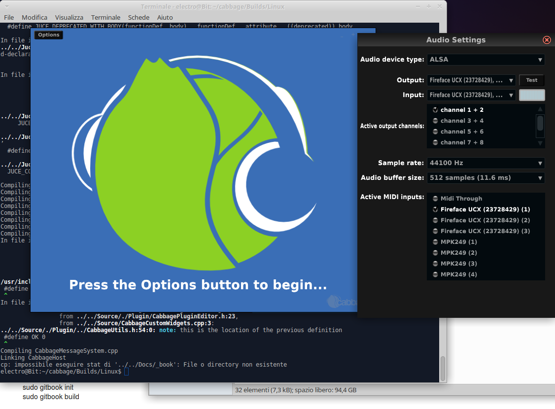 Problems to Install Cabbage on Ubuntu Studio 16 04 (Fixed) - Cabbage